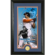 Highland Mint Miami Marlins Giancarlo Stanton  Supreme Bronze Coin Photo Mint