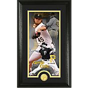 Highland Mint Pittsburgh Pirates Gerrit Cole Supreme Supreme Bronze Coin Photo Mint