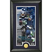 The Highland Mint Seattle Seahawks Richard Sherman Framed 'Supreme' Bronze Coin Photo Mint