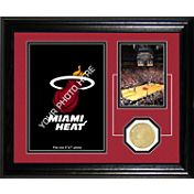 The Highland Mint Miami Heat Desktop Photo Mint