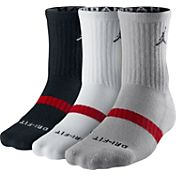 Jordan Dri-FIT Crew Basketball Sock 3 Pack
