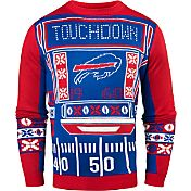 KLEW Men's Buffalo Bills Light Up Ugly Sweater