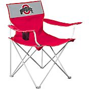 Logo Ohio State Buckeyes Team-Colored Canvas Chair