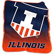 Illinois Fightining Illini Raschel Throw