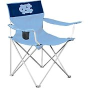 Logo North Carolina Tar Heels Team-Colored Canvas Chair
