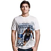 Levelwear Men's Memphis Grizzlies Zach Randolph Center Court White T-Shirt