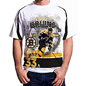 Levelwear Men's Boston Bruins Zdeno Chara #33 Center Ice White T-Shirt