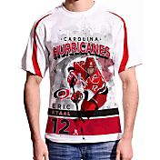 Levelwear Men's Carolina Hurricanes Eric Staal #12 Center Ice White T-Shirt