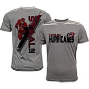 Levelwear Men's Carolina Hurricanes Eric Staal #12 Grey Spectrum T-Shirt