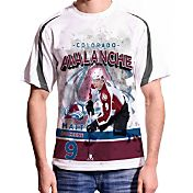 Levelwear Men's Colorado Avalanche Matt Duchene #9 Center Ice White T-Shirt