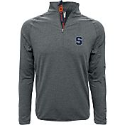 Levelwear Men's Syracuse Orange Grey Metro Quarter-Zip