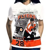 Levelwear Women's Philadelphia Flyers Claude Giroux #28 Center Ice White T-Shirt