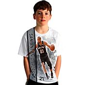 Levelwear Youth San Antonio Spurs Tim Duncan Breakaway White T-Shirt