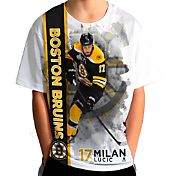 Levelwear Youth Boston Bruins Milan Lucic #17 Breakaway White T-Shirt