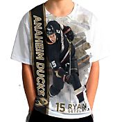 Levelwear Youth Anaheim Ducks Ryan Getzlaf #15 Breakaway White T-Shirt