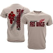 Levelwear Youth Detroit Red Wings Henrik Zetterberg #40 Charcoal Spectrum T-Shirt
