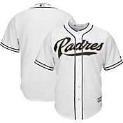 Majestic Boys' Replica San Diego Padres Cool Base Home White Jersey