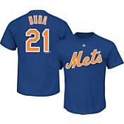 Majestic Triple Peak Men's New York Mets Lucas Duda Royal T-Shirt