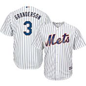 Majestic Men's Replica New York Mets Curtis Granderson #3 Cool Base Home White Jersey