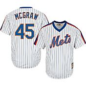 Majestic Men's Replica New York Mets Tug McGraw Cool Base White Cooperstown Jersey