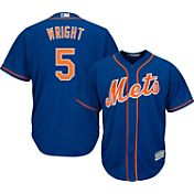 Majestic Men's Replica New York Mets David Wright #5 Cool Base Alternate Home Royal Jersey
