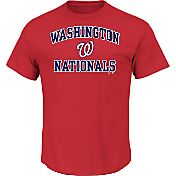 Majestic Men's Washington Nationals Heart & Soul Red T-Shirt