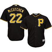 Majestic Men's Replica Pittsburgh Pirates Andrew McCutchen #22 Cool Base Alternate Black Jersey