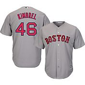 Majestic Men's Replica Boston Red Sox Craig Kimbrel #46 Cool Base Road Grey Jersey