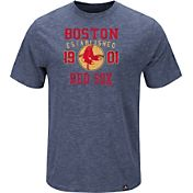 Majestic Men's Boston Red Sox Cooperstown Navy T-Shirt
