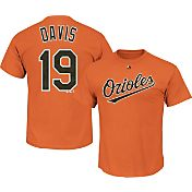 Majestic Men's Baltimore Orioles Chris Davis #19 Orange T-Shirt