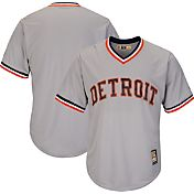Majestic Men's Replica Detroit Tigers Cool Base Grey Cooperstown Jersey