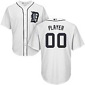 Majestic Men's Full Roster Cool Base Replica Detroit Tigers Home White Jersey