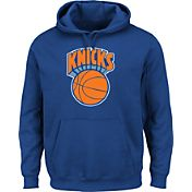 Majestic Men's New York Knicks Hardwood Classic 1979-80 Logo Royal Hoodie