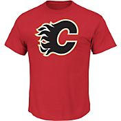 Majestic Men's Calgary Flames Tek Patch T-Shirt