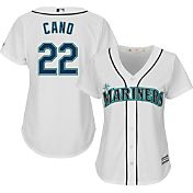 Majestic Women's Replica Seattle Mariners Robinson Cano #22 Cool Base Home White Jersey