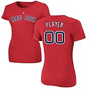 Majestic Women's Full Roster Boston Red Sox Red T-Shirt