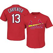 Majestic Youth St. Louis Cardinals Matt Carpenter #13 Red T-Shirt