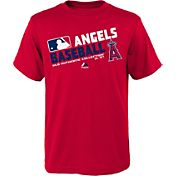 Majestic Youth Los Angeles Angels Authentic Collection Red T-Shirt