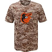 Majestic Youth Baltimore Orioles Cool Base Digi Camo T-Shirt