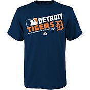 Majestic Youth Detroit Tigers Authentic Collection Navy T-Shirt