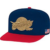 Mitchell & Ness Men's Cleveland Cavaliers USA Adjustable Snapback Hat