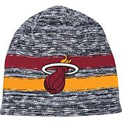 Mitchell & Ness Men's Miami Heat Team Stripe Knit Hat