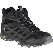 Merrell Men's Moab FST Mid Waterproof Hiking Boots