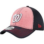 New Era Men's Washington Nationals 39Thirty Heathered Neo Flex Hat