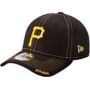 New Era Men's Pittsburgh Pirates 39Thirty Neo Black Flex Hat