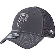 New Era Men's Pittsburgh Pirates 39Thirty Grey Crux Neo Flex Hat
