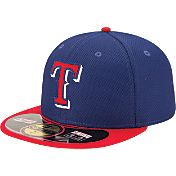 New Era Men's Texas Rangers 59Fifty Diamond Era Alternate Royal Batting Practice Hat