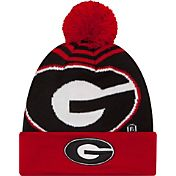 New Era Men's Georgia Bulldogs Red/Black Logo Whiz 2 Knit Beanie