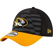 New Era Men's Missouri Tigers Black/Gold NE 15 Stars 39Thirty Performance Hat