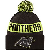 New Era Men's Carolina Panthers Sport Cyber Yellow Knit Beanie